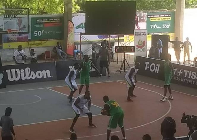 Can Basketball 3×3 (Hommes): Le Burkina perd face au Togo