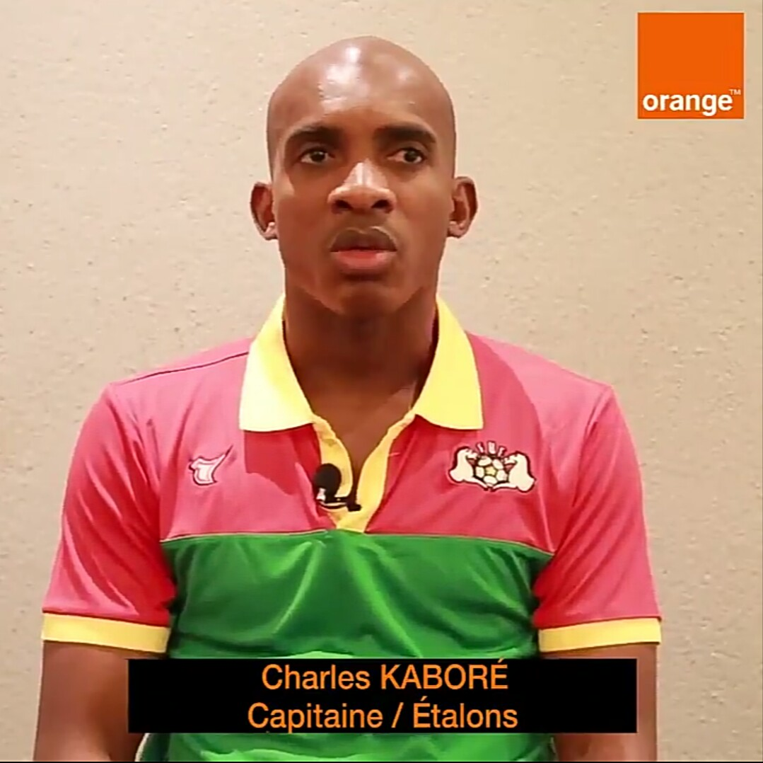 Étalons: L'appel à la mobilisation de Charles Kaboré à travers Orange Burkina